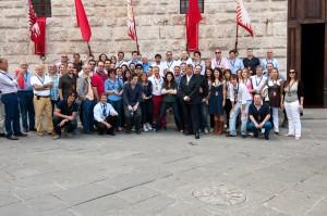 """Il cast di """"New Moon"""" a Montepulciano"""