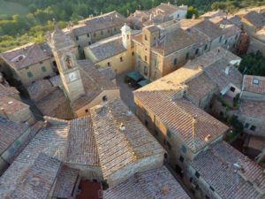 Castelmuzio alto