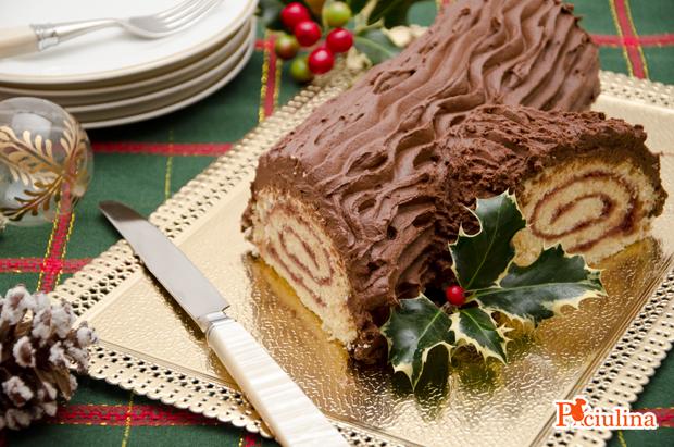 Come Decorare Un Tronchetto Di Natale.Buche De Noel Tronchetto Di Natale La Valdichiana