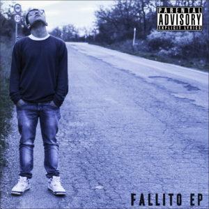 """Cover Front dell'album """"Fallito"""" di TwoLo"""
