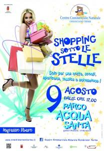 locandina shopping