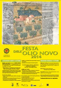 FESTA OLIO NOVO MANIFESTO