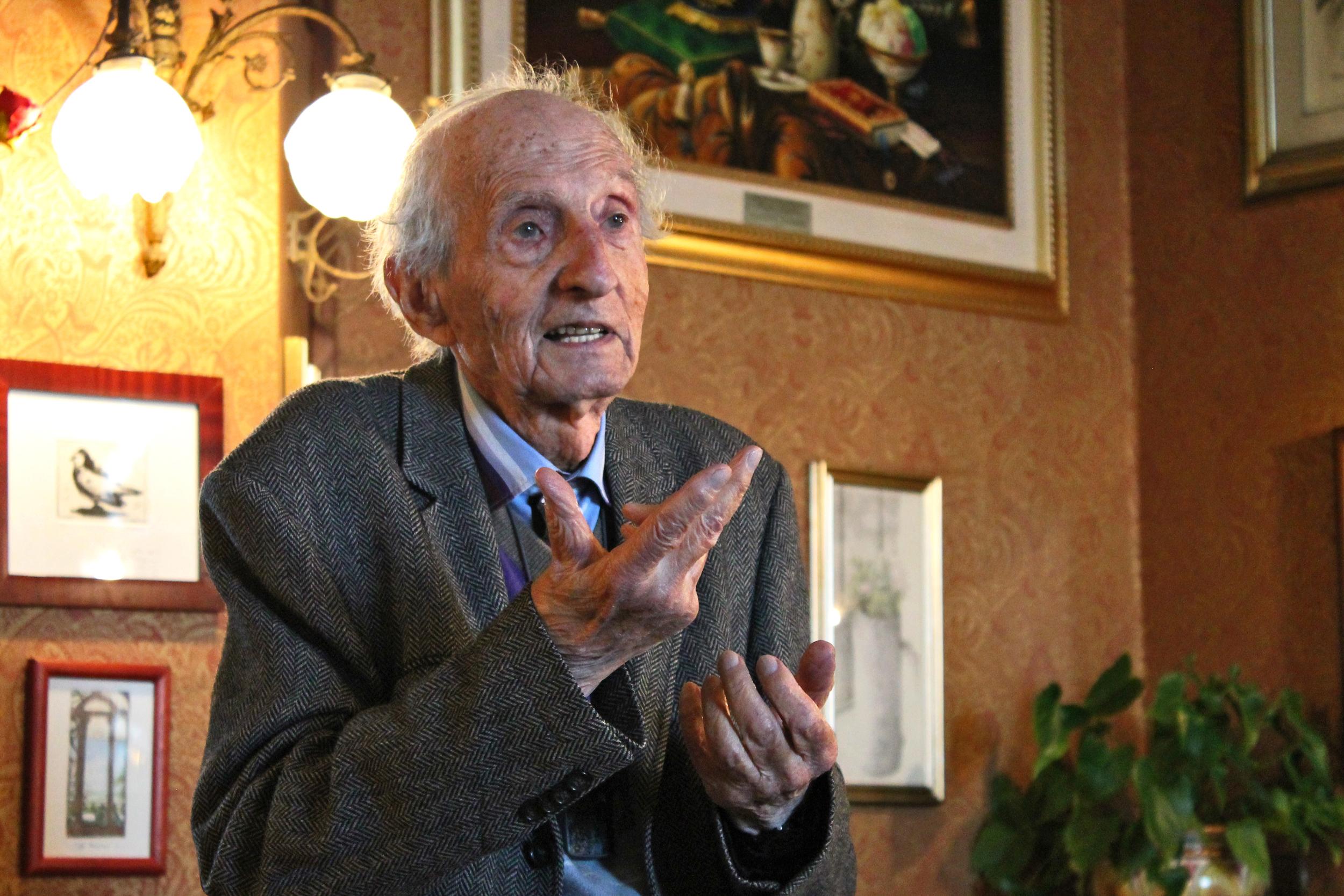 Eugenio Carmi: un pilastro dell'astrattismo italiano si racconta