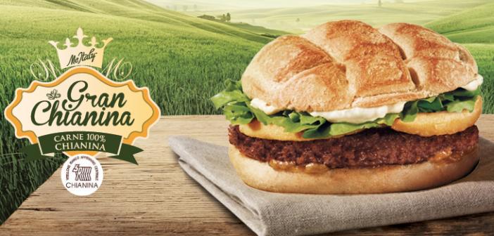 McItaly: la chianina ritorna al fast food