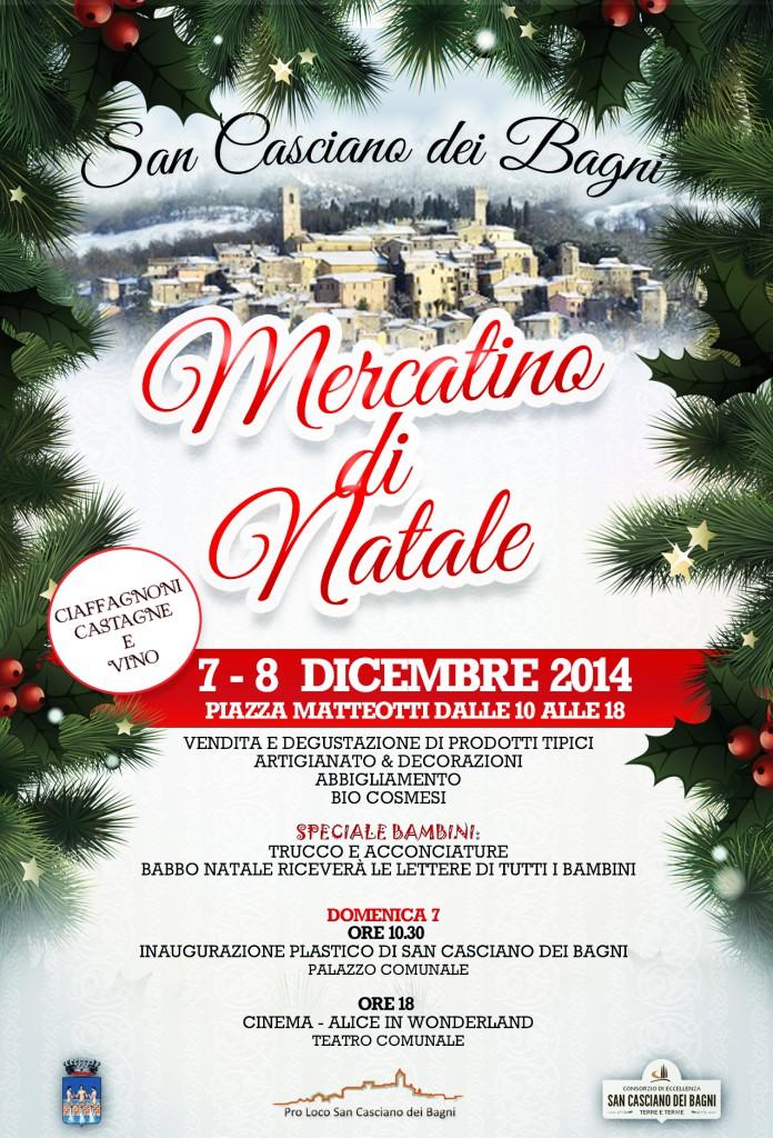 San Casciano dei Bagni: arrivano i Mercatini di Natale - La Valdichiana