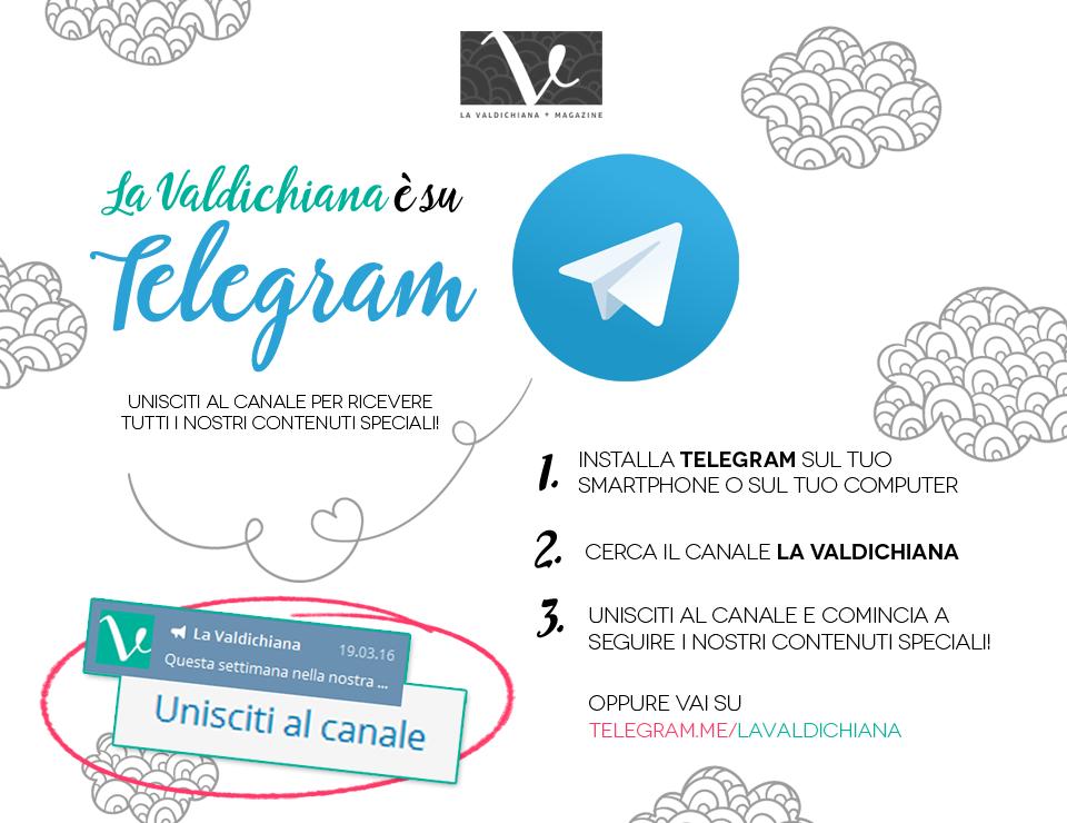 La Valdichiana sbarca su Telegram