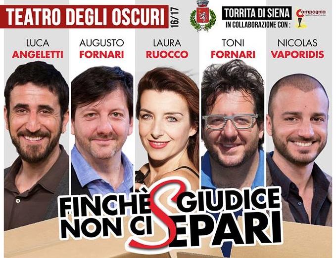 """""""Finché Giudice non ci separi"""" al Teatro degli Oscuri: le interviste"""