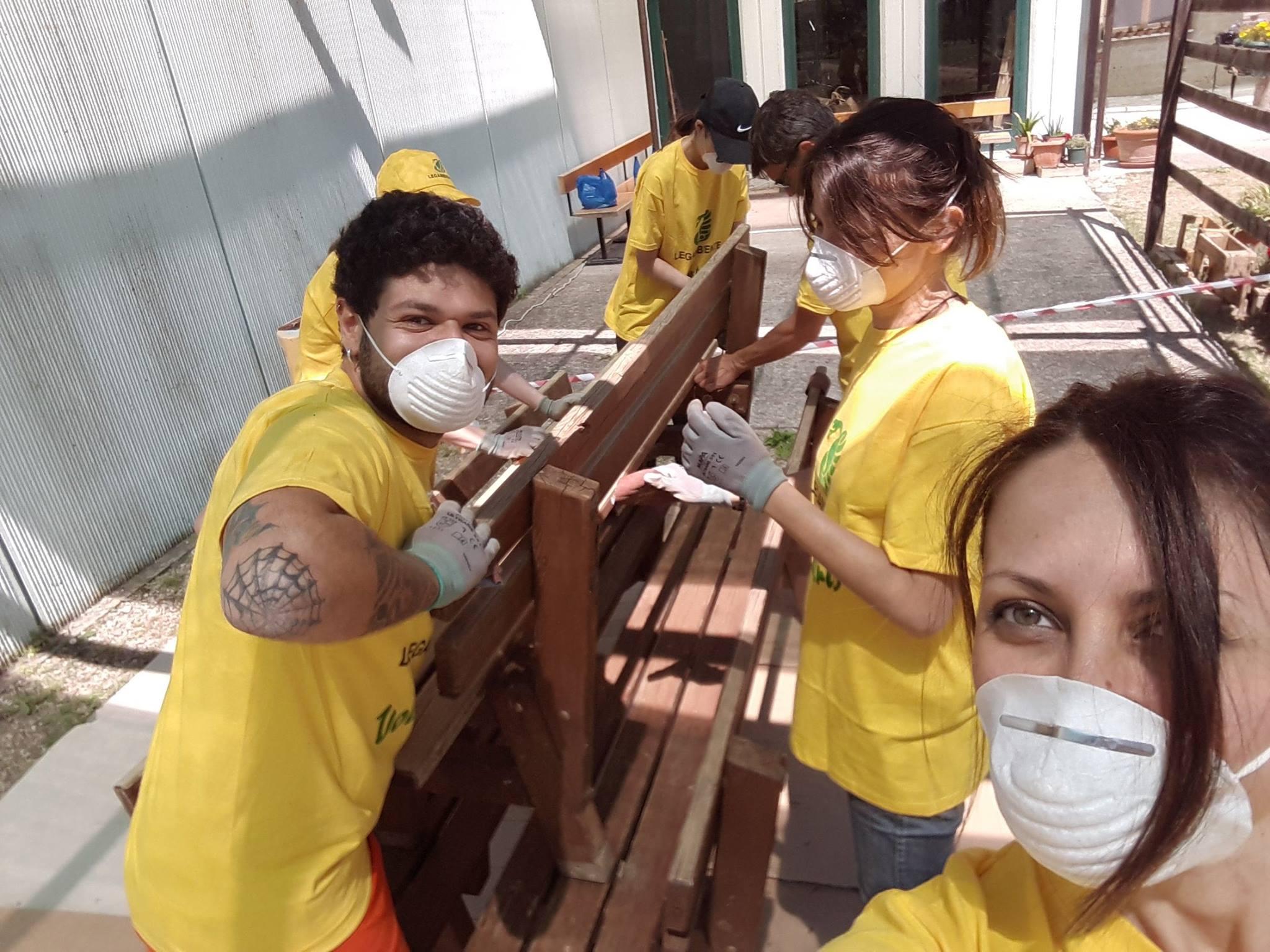 Volontariato internazionale al Lago di Montepulciano