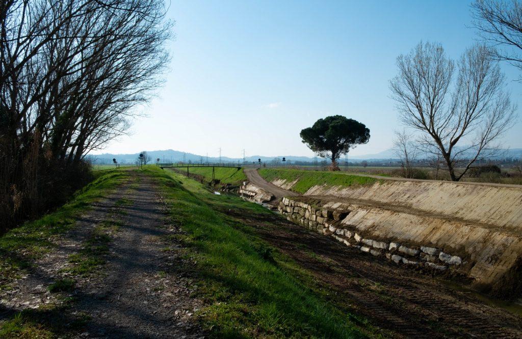 sentiero della bonifica montepulciano