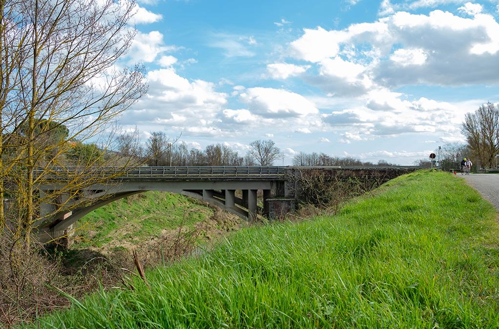 sentiero della bonifica ponte alla nave